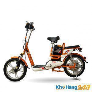 XE DAP DIEN VIETMAX RUN CAM 01 300x300 - Xe đạp điện Vietmax Run - Màu Cam