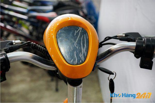 XE DAP DIEN VIETMAX RUN CAM 08 600x400 - Xe đạp điện Vietmax Run - Màu Cam