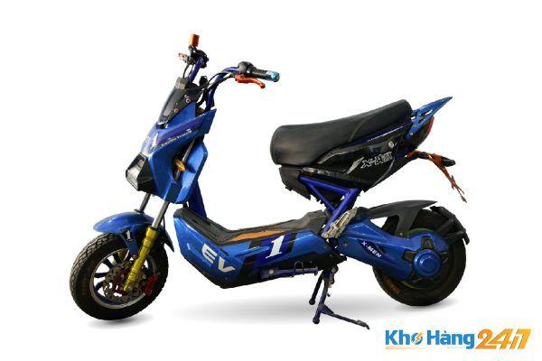 xe may dien x men xanh cu 02 600x400 - Xe đạp điện X-Men Xanh