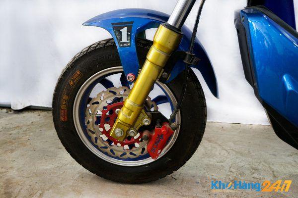xe may dien x men xanh cu 03 600x400 - Xe đạp điện X-Men Xanh