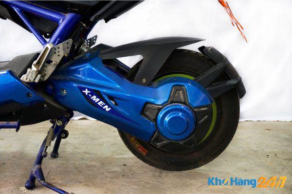 xe may dien x men xanh cu 05 600x400 - Xe đạp điện X-Men Xanh