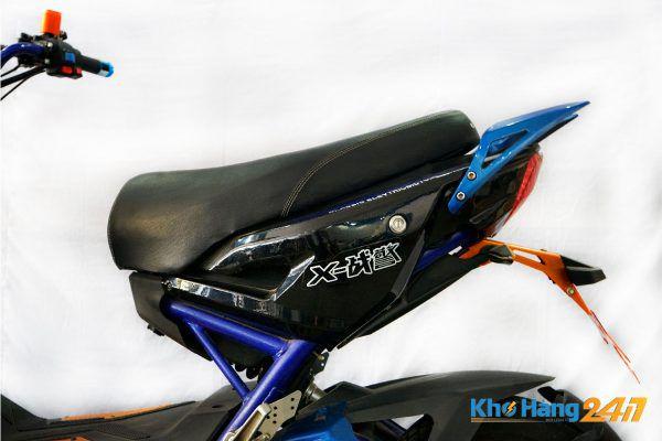 xe may dien x men xanh cu 06 600x400 - Xe đạp điện X-Men Xanh