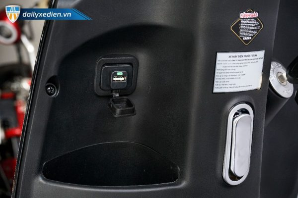xe may dien yadea ulike 06 600x400 - Xe máy điện Yadea Ulike