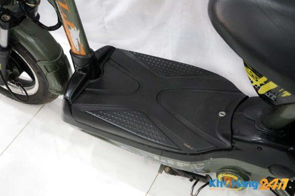 xe dap dien jili xanh cu ct 04 600x400 - Xe đạp điện Jili củ - Màu xanh