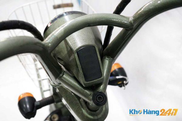 xe dap dien jili xanh cu ct 09 600x400 - Xe đạp điện Jili củ - Màu xanh