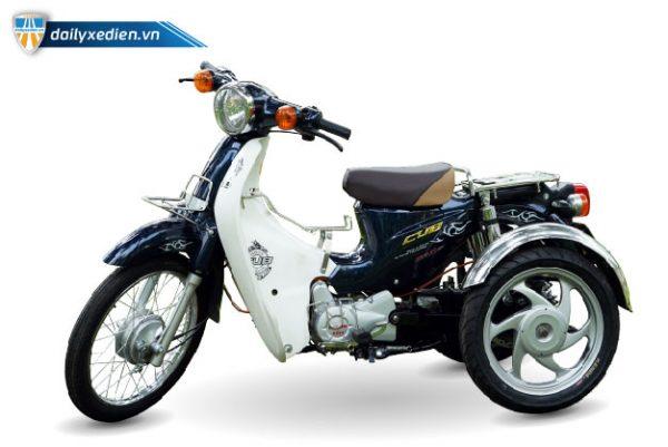 xe ba banh che cup 50cc ct 02 600x401 - Xe 3 bánh chế CUP 50cc Việt Nhật