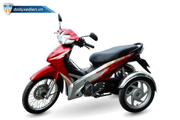xe ba banh tu che Wave s 110 ct 02 600x400 - Xe 3 bánh chế Wave S Việt Nhật